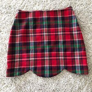 🌟NWT🌟 Vineyard Vines Plaid Scallop Skirt